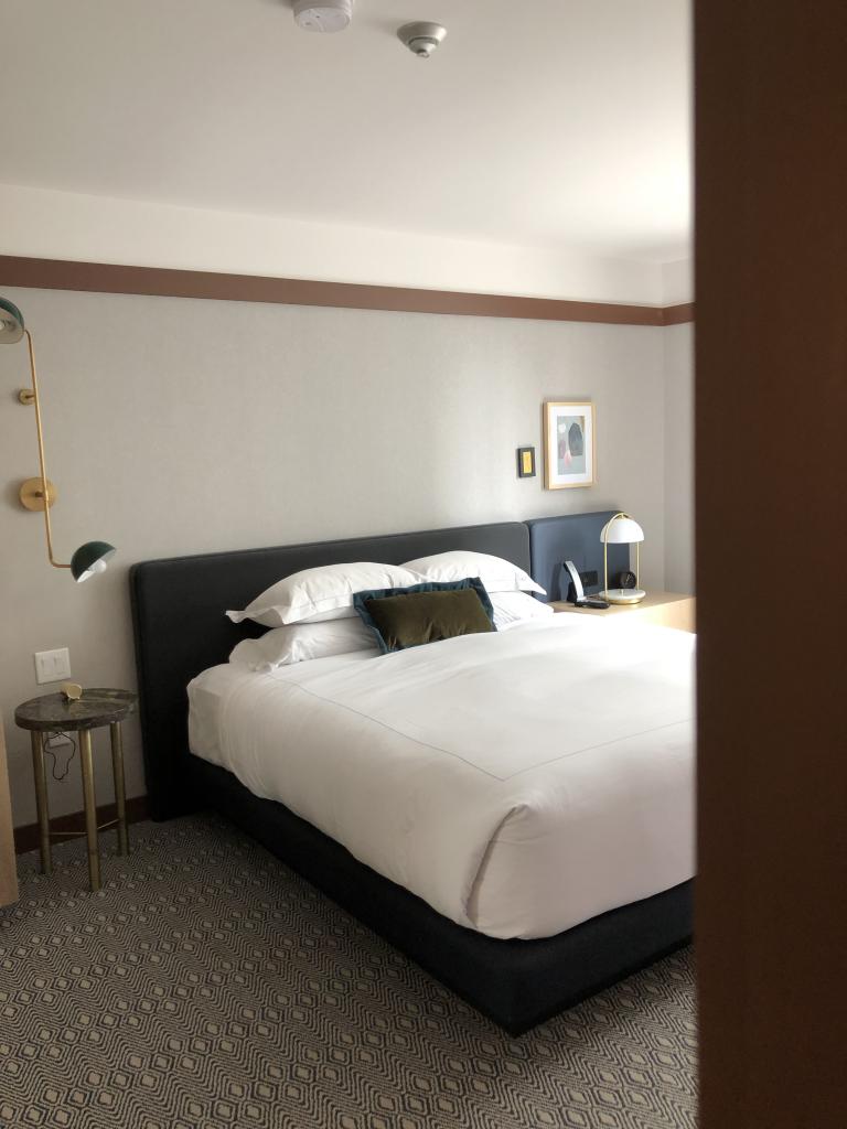 Image of the bedroom at Kimpton Saint George Hotel, Toronto