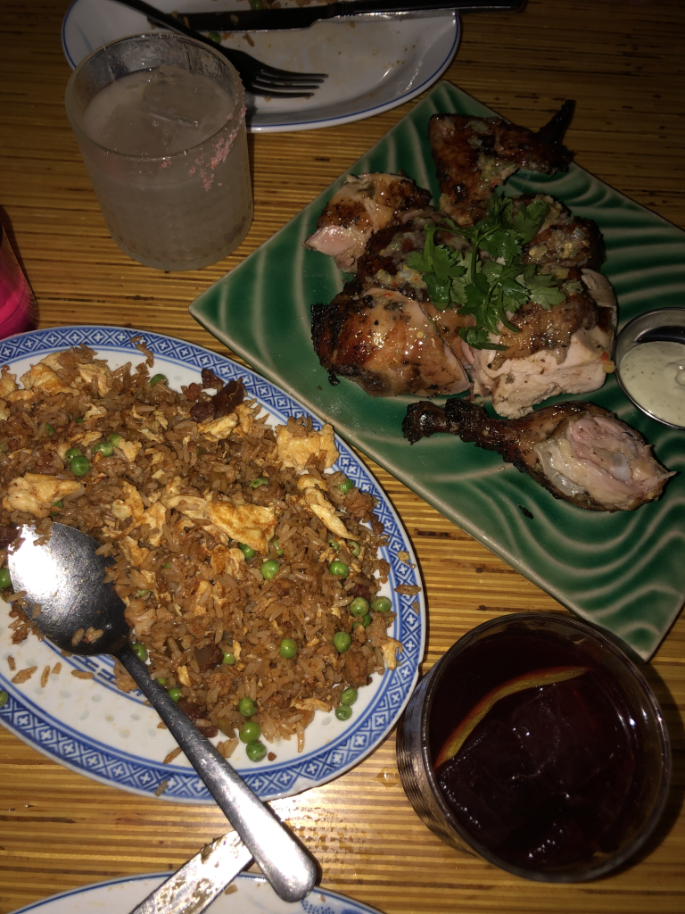 Image of Dirty Fried Rice & Juicy Jerk Chicken at Patois Toronto